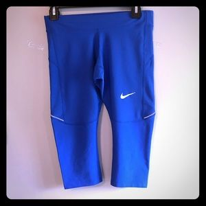 3 for $20 Nike DRI Fit running Pants Blue Sz S